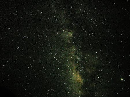 starry night of Yuzhu - Foto: Livepine. Creative Commons License
