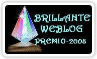 'Briljante weblog' award - logo