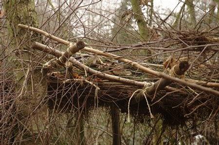 Bouwen en sjorren - Foto: Annetanne - Creative Commons License